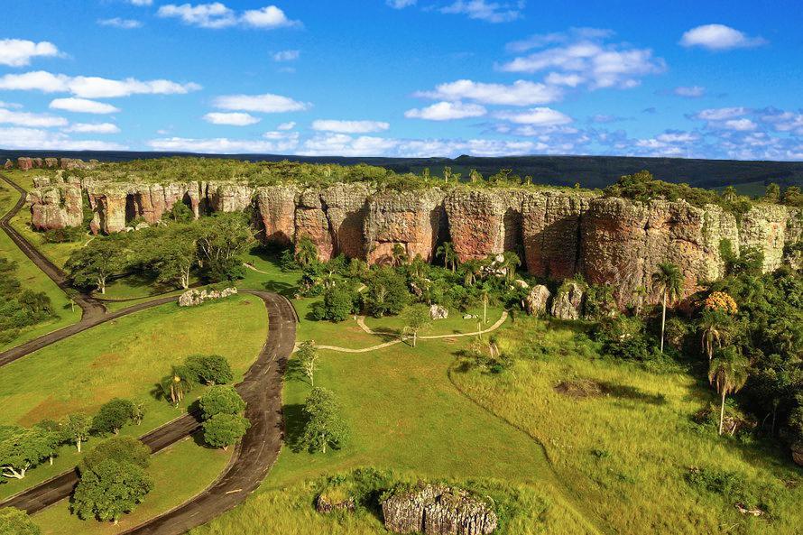 Arenitos do Parque Vila Velha Paraná