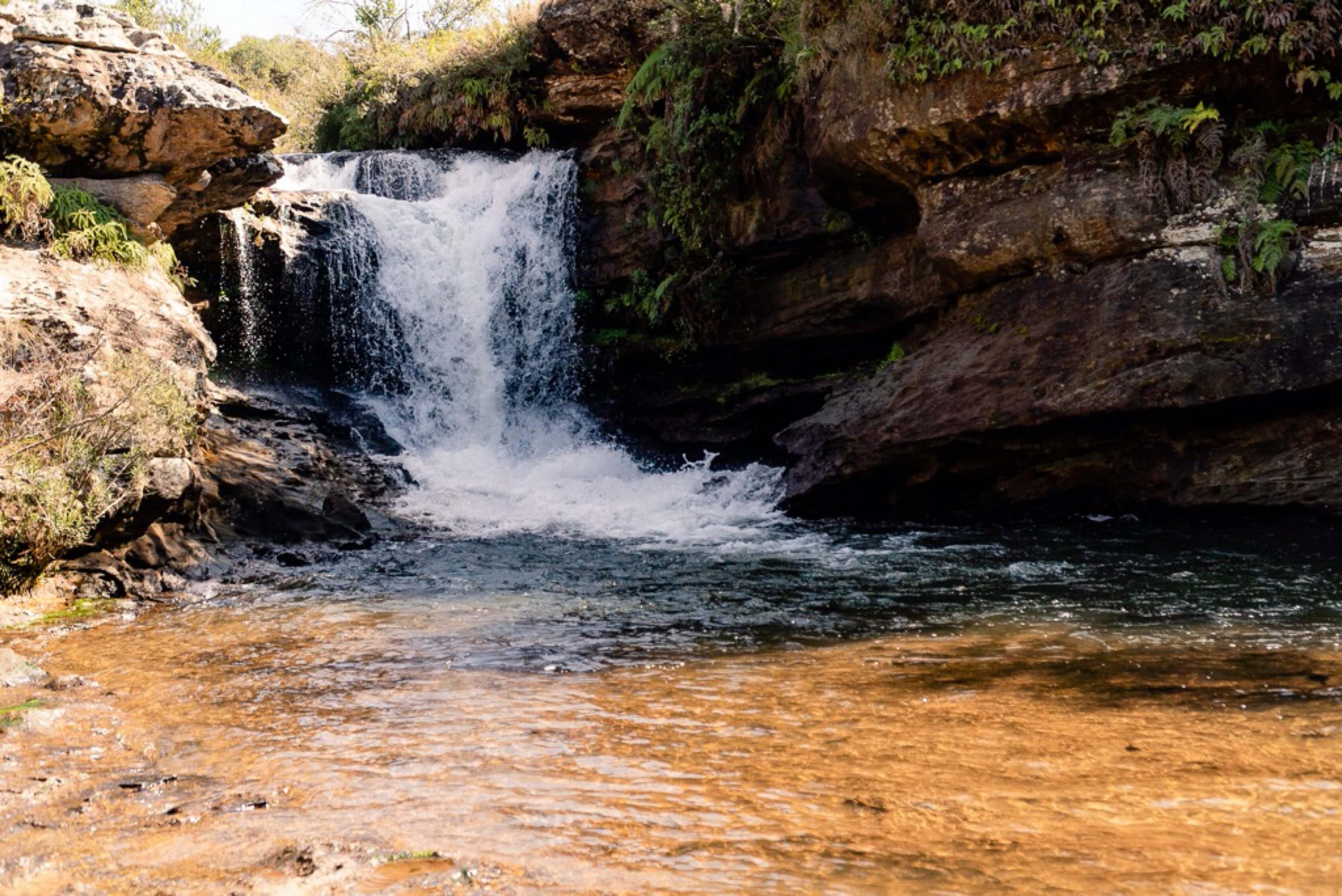 Cachoeiras no Paraná perto de Curitiba