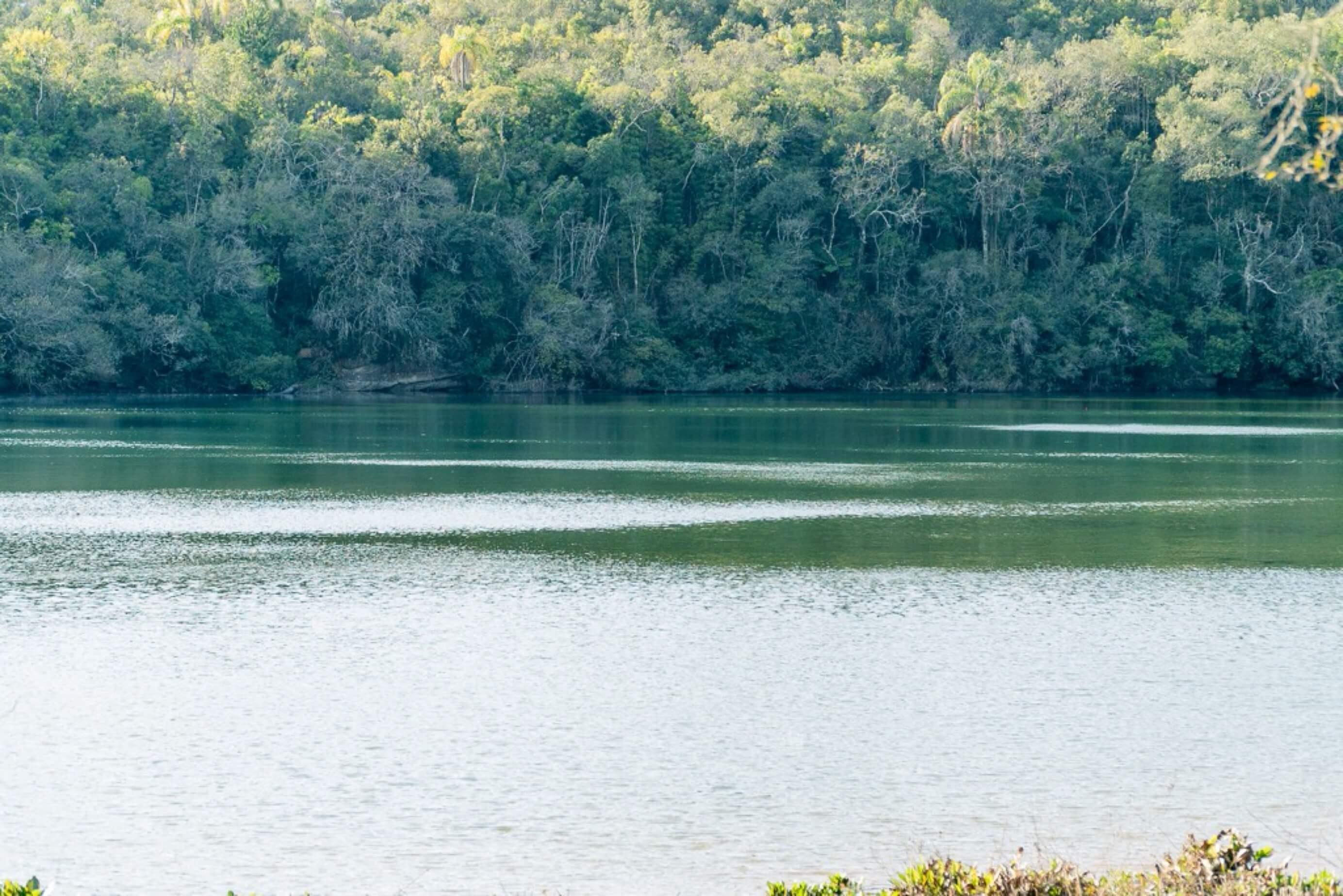 Lagoa Dourada perto de Curitiba