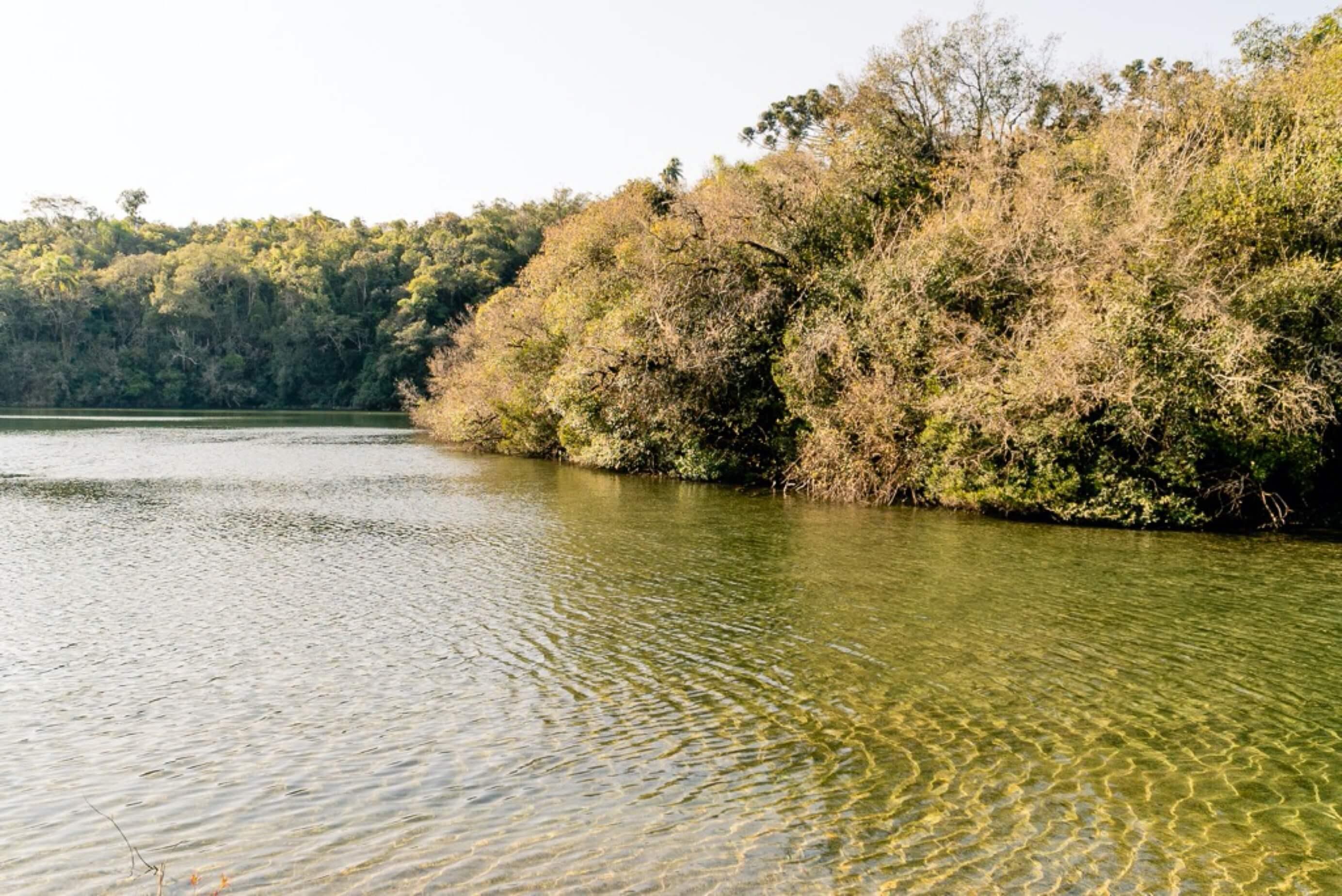 Lagoa Bonita perto de Curitiba