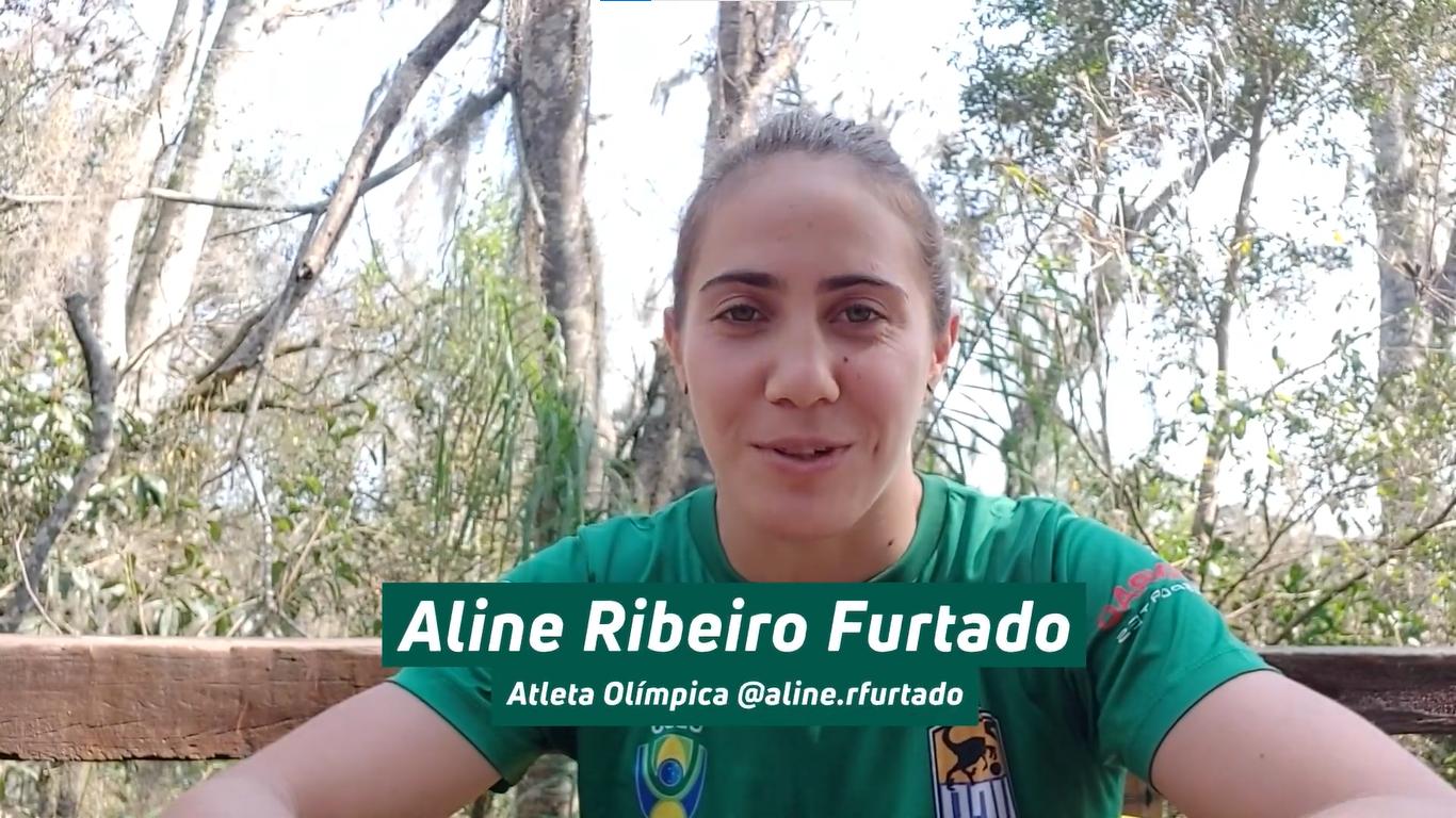 Atleta olímpica brasileira escolhe o Parque Vila Velha para passear depois das competições em Tóquio